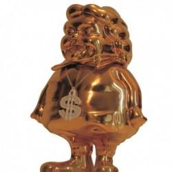 Mc Supersized Full Gold by Ron English & K.olin Tribu