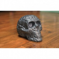 Skull Brain 'BLACK' by Emilio Garcia